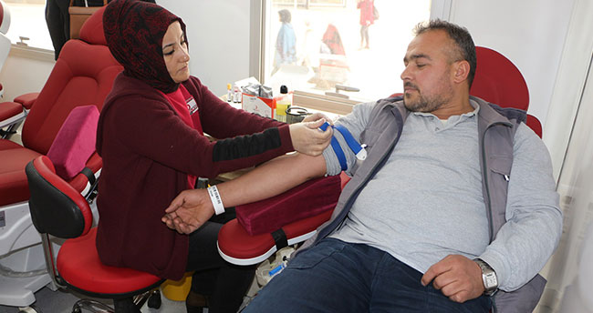 Karatay Belediyesi çalışanlarından kan bağışı seferberliği