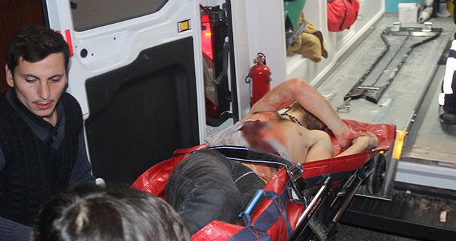 Konya'da bir kişi kazayla kendini vurdu