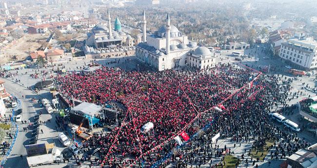 Konya nüfusunun hemşehri profili çıkarıldı
