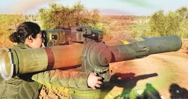 5 şehit verdiğimiz tankı ABD füzeleriyle vurdular