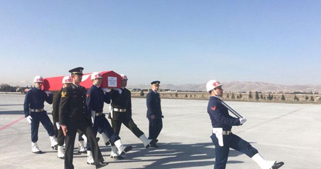 Afrin şehidimizin cenazesi Konya'ya getirildi