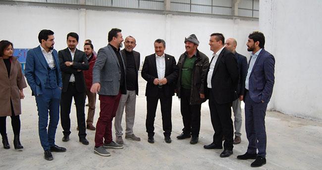 Seydişehir'de çorap fabrikasının ilk adımı atıldı