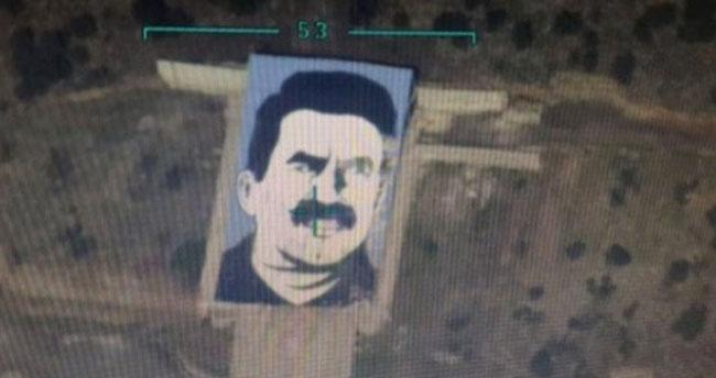 Afrin'deki Abdullah Öcalan Anıtının Yerle Bir Edildiği Anlar Kamerada!