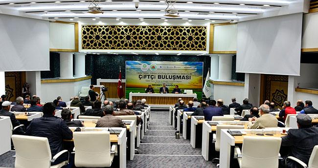 Meram'da çiftçi buluşması! Rapor Erdoğan'a sunulacak