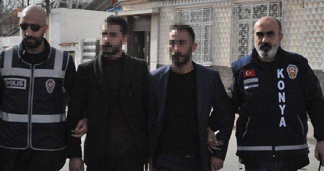 Konya'daki silahlı saldırıda 2 kişi gözaltına alındı