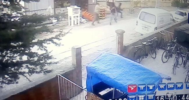 Konya'da tüfekle bakkal bastılar, iş yeri sahibini taradılar