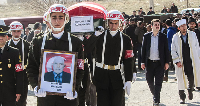 Konyalı Kore Gazisi törenle son yolculuğuna uğurlandı