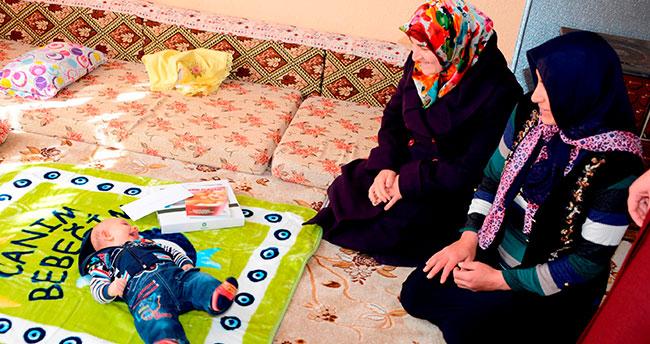 İyi ki Doğdun Bebek Projesi 4 yılda 17 bin aile ziyaret edildi