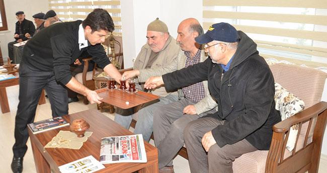 Karatay'ın 20. konağı emeklilerin hizmetinde