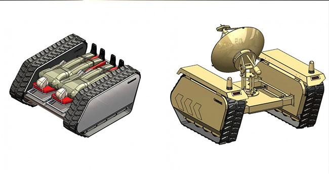 Afrin'deki Mehmetçik'e insansız kara aracı takviyesi