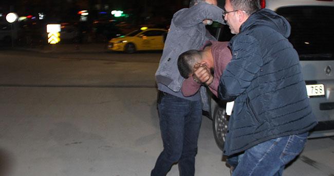 Konya'da hırsızı önce dövdüler, sonra polise teslim ettiler