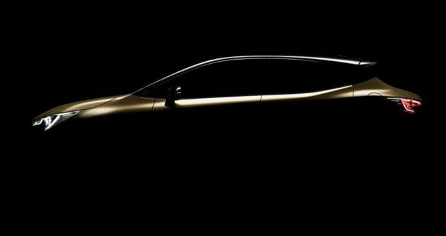 Yeni Toyota Auris'ten ilk fotoğraf