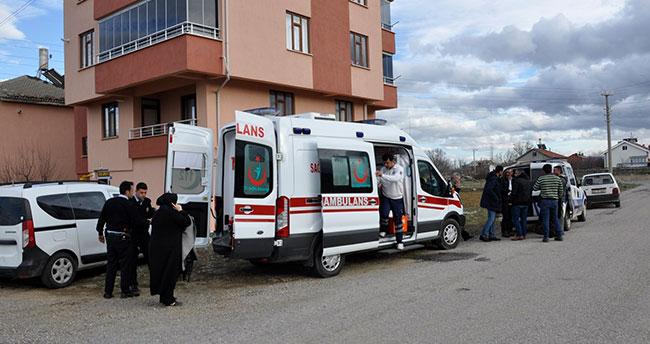 Konya'da tartıştığı komşusu tarafından bıçaklanan kişi yaralandı