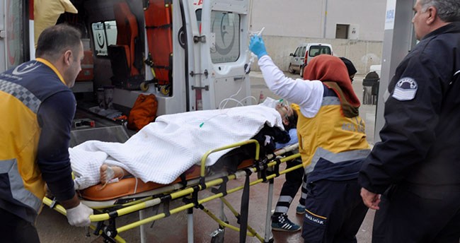 Konya'da eşi tarafından pompalı tüfekle vurulan kadın yaralandı