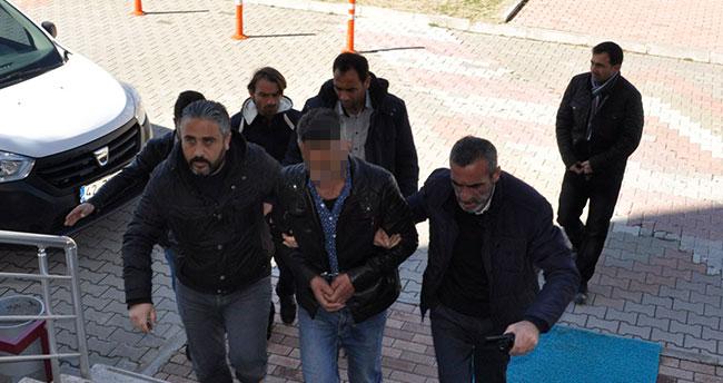Konya'da hamile eşini vuran kişi adliyeye sevk edildi
