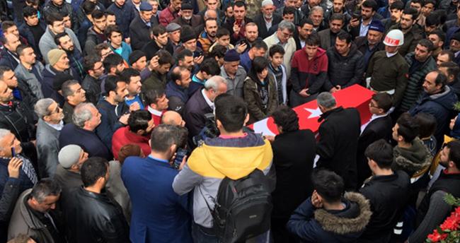Konya Afrin Şehidini Dualarla Uğurladı