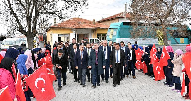 """""""Lider ülke Türkiye mücadelesine en büyük destek veren şehiriz"""""""