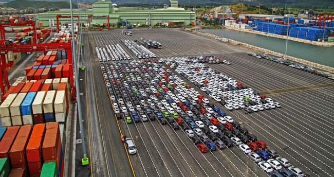 Otomotiv ihracatında tüm zamanların rekoru geldi