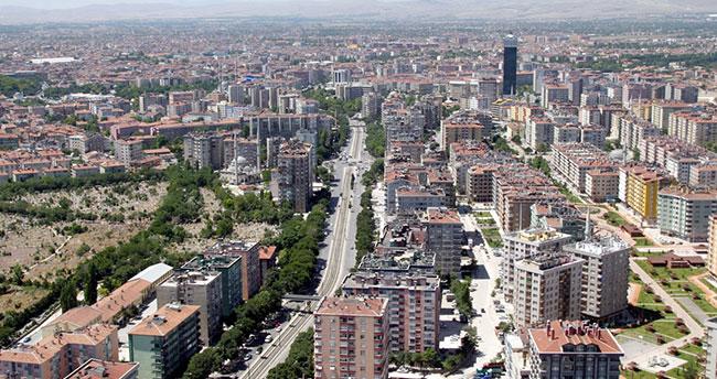 Konya'da kadın nüfusu daha fazla