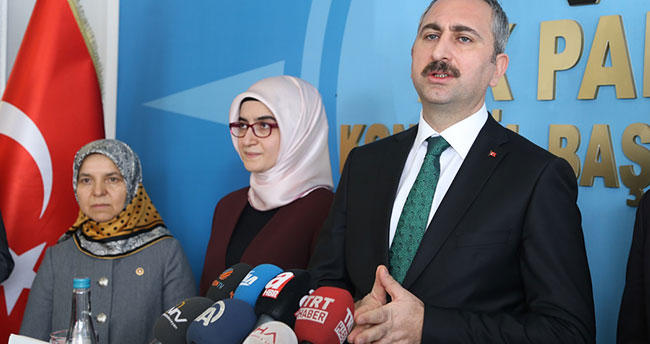 Adalet Bakanı Gül, 'Tüm tedbirler masada'