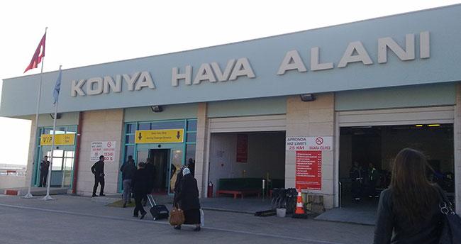 Konya Havalimanında Şubat'ta 78 bin 716 yolcuya hizmet verildi