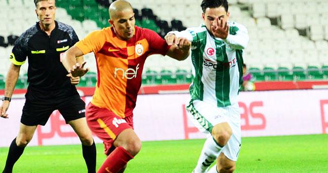 Galatasaray – Konyaspor maçında ilk 11'ler belli oldu!
