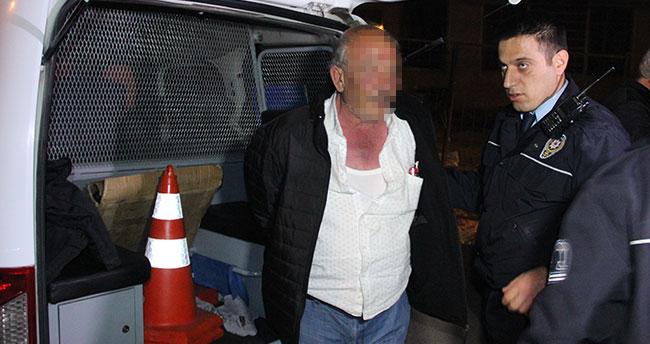 Konya'da polisin dur ihtarına uymayan magandalar yakalandı