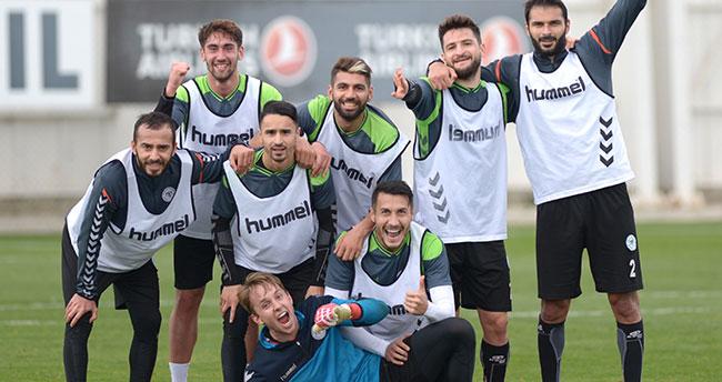 Atiker Konyaspor, Kayserispor maçı hazırlıklarını sürdürüyor