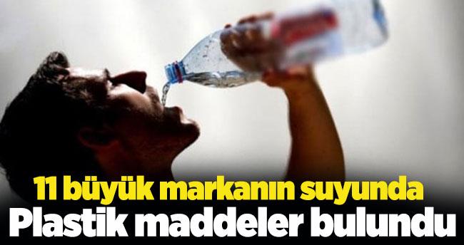 11 büyük markanın suyunda plastik maddeler bulundu