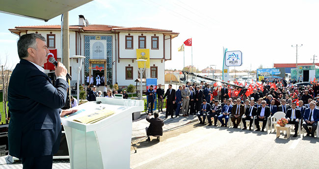 Tuzlukçu Şehir Konağı Hizmete Açıldı