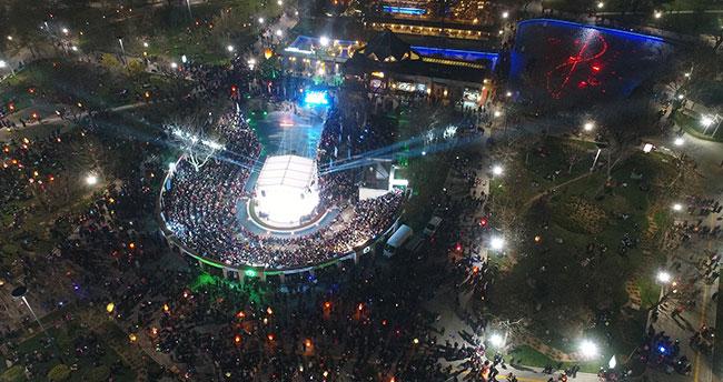 Konya'daki Şivlilik ve Fener Alayı Coşkusuna Binlerce Konyalı Katıldı