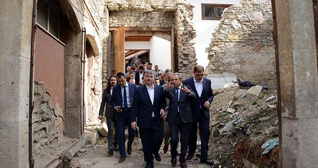 Konya Merkezden Sonra En Büyük Restorasyon Çalışması Akşehir'de Yapıldı