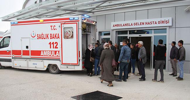Konya'da sobadan sızan gazdan 4 kişi zehirlendi
