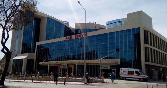 Konya'ya yapılan bu hastaneye merdiven yapmayı unuttular