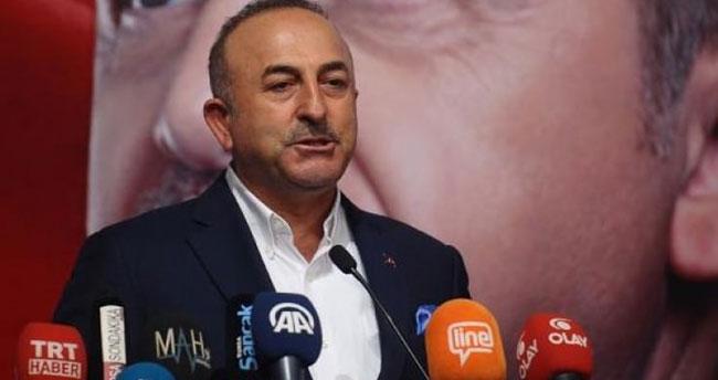 Bakan Çavuşoğlu: O sahtekarın ensesindeyiz