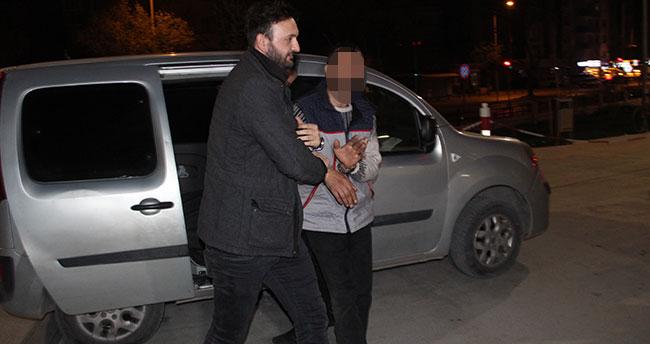 Konya'da tavuk hırsızı 20 dakikada yakalandı