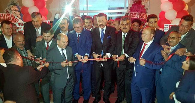 TOBB Başkanı Hisarcıklıoğlu Ereğli'de hastane açılışına katıldı