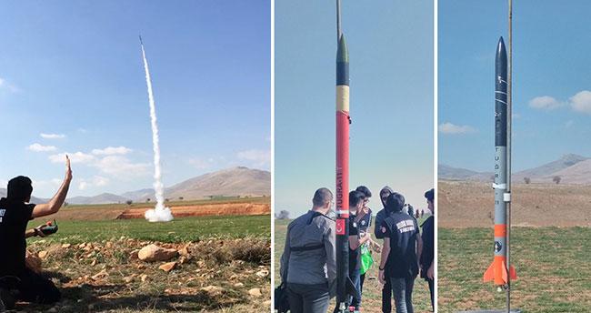 Selçuk Üniversitesi Öğrencilerinden Geliştirilmiş Yerli Roket
