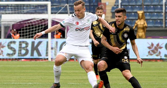 Osmanlıspor 0 – 0 Atiker Konyaspor