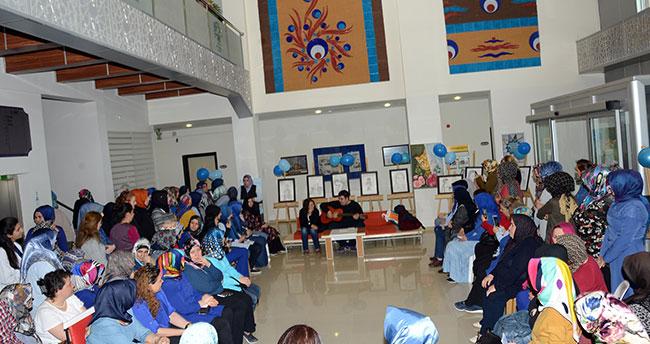 Konya'da Dünya Otizm Farkındalık Günü'nde anlamlı program