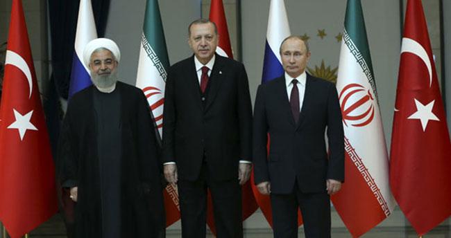 'Türkiye-Rusya-İran Üçlü Zirvesi' yapıldı