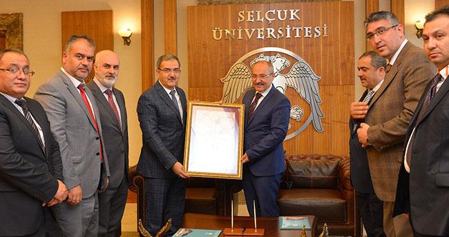 Selçuk ile Konya Büyükşehir'den çevreyi güzelleştirecek protokol