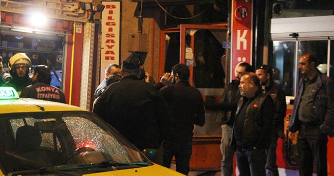 Konya'da tüp patladı: 2 yaralı