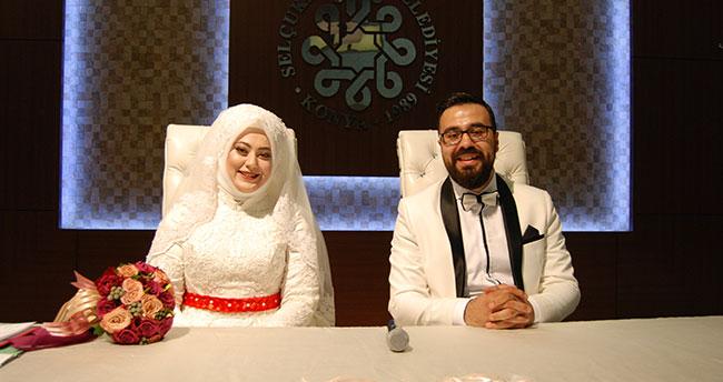 Gazeteci Mehmet Ali Eskipostalcı evlendi