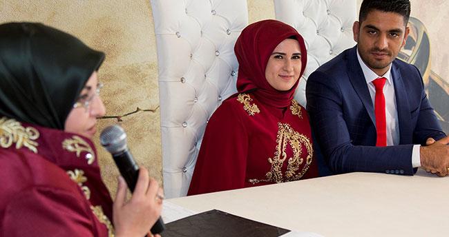 Başkan Toru, Afrin gazisinin nikahını kıydı