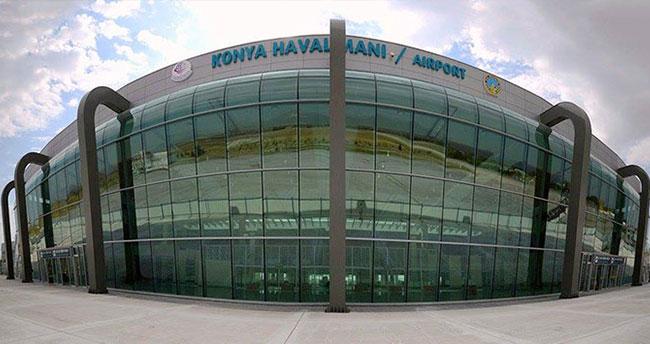 Mart ayında Konya Havalimanında 104 bin 210 yolcu taşındı