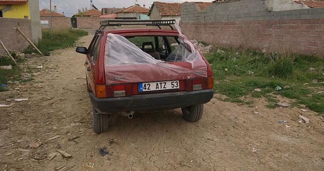 Konya'da otomobil hırsızı çocuklar yakalandı