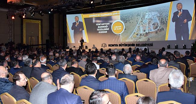 Başkan Akyürek 14 yıllık hizmet ve yatırımlarını anlattı