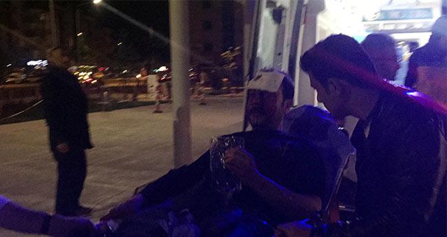 Konya'da satırlı saldırıya uğrayan kişi yaralandı