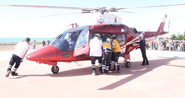 Konya'da bisikletten düşen 2 kardeş yaralandı